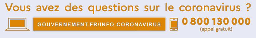 Question sur le coronavirus