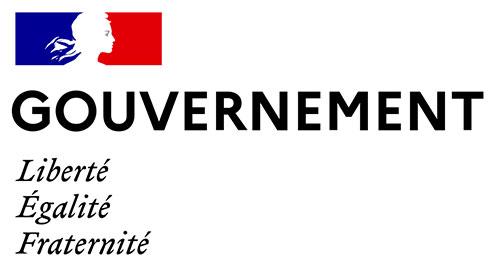 Logo du gouvernement français